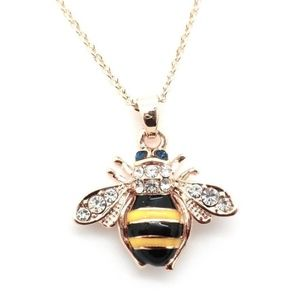 Jewelry - Gold Plated Bumble Bee Necklace